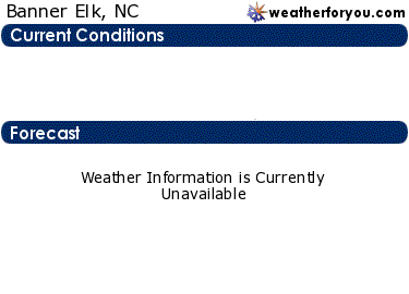 Latest Banner Elk, North Carolina, weather conditions and forecast