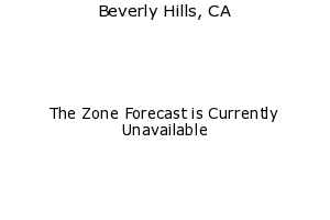 Beverly Hills, California, weather forecast