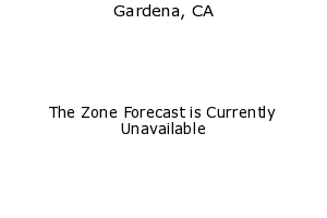 Gardena, California, weather forecast