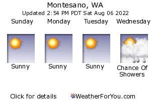Montesano, Washington, weather forecast