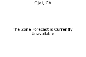 Ojai, California, weather forecast