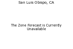 San Luis Obispo, California, weather forecast