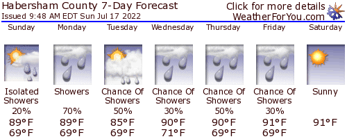 Clarksville, Georgia, weather forecast