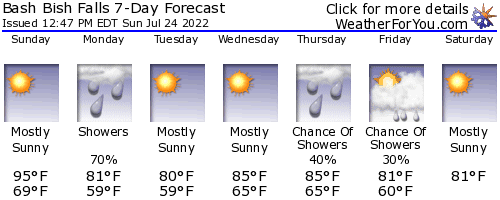 Copake Falls, New York, weather forecast