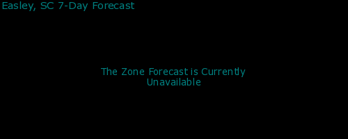 Easley, South Carolina, weather forecast