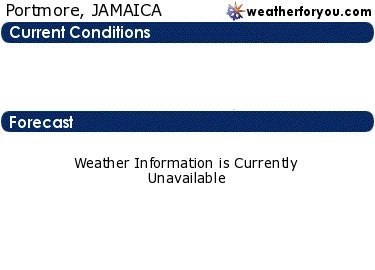 Latest Portmore, Jamaica, weather conditions and forecast