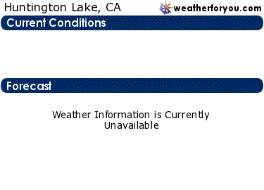 Latest Huntington Lake, California, weather conditions and forecast