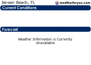 Latest Jensen Beach, Florida, weather conditions and forecast