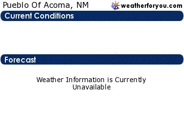 Latest Pueblo Of Acoma, New Mexico, weather conditions and forecast