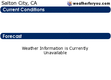 Latest Salton City, California, weather conditions and forecast