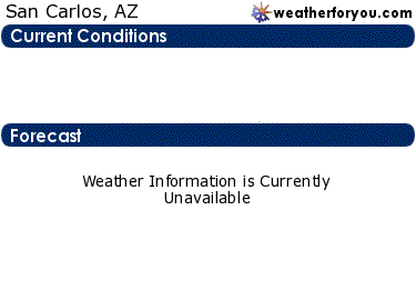 Latest San Carlos, Arizona, weather conditions and forecast
