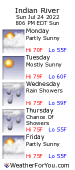Indian River, Michigan, weather forecast