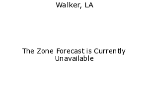 Latest Walker, LA weather conditions and forecast