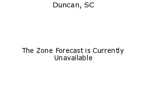 Duncan, South Carolina, weather forecast