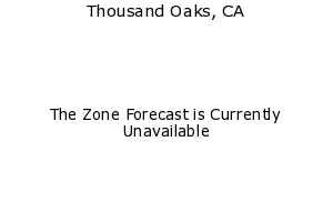 Thousand Oaks, California, weather forecast