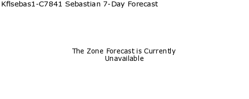 Sebastian, Florida, weather forecast